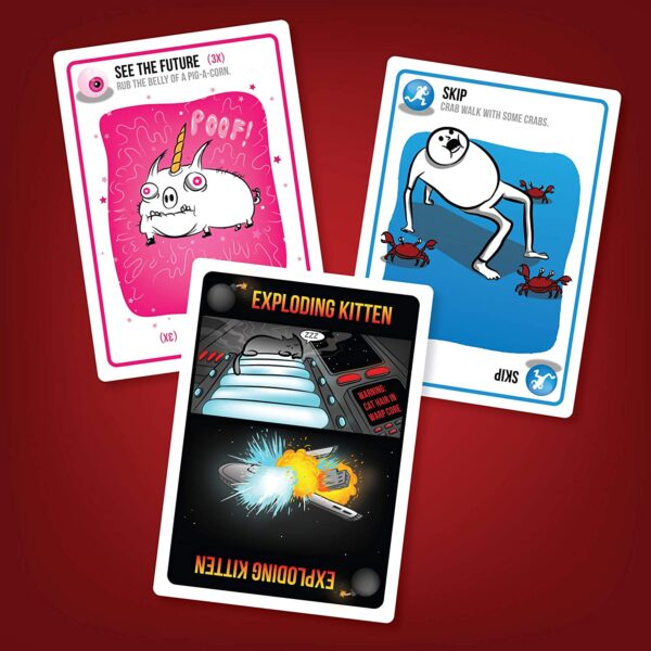 Exploding Kittens Card Games For Adults, Teens & Kids 5