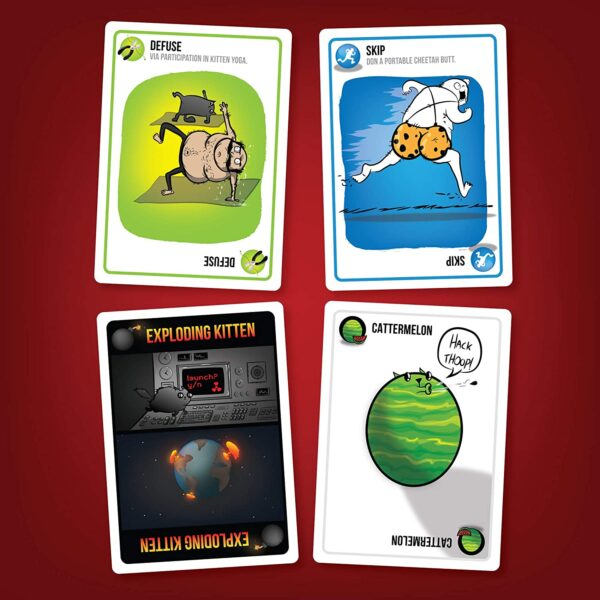 Exploding Kittens Card Games For Adults, Teens & Kids 6