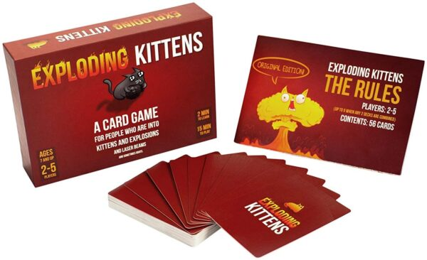 Exploding Kittens Card Games For Adults, Teens & Kids 7