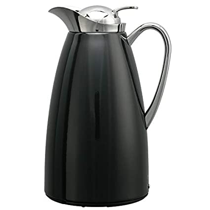 Glass Lined Carafe Black 1.0L