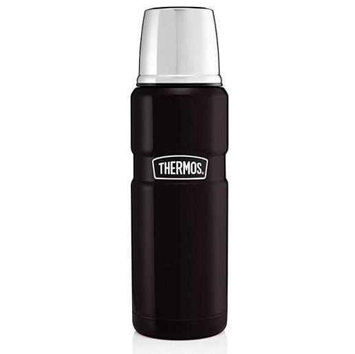 Stainless King Flask Matt Black 470ml