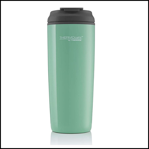 ThermoCafé By Thermos Coastal Flip Top Traveller Tumbler 450ml 2