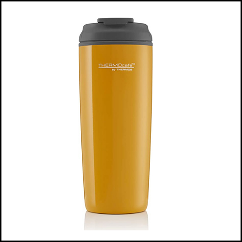 ThermoCafé By Thermos Coastal Flip Top Traveller Tumbler 450ml