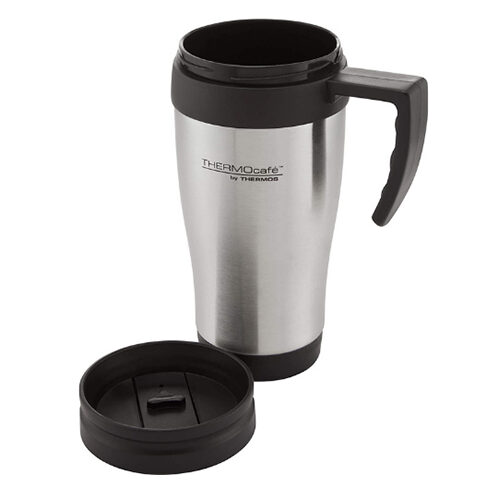 ThermoCafe by Thermos 2001 Steel Travel Mug 400ml 1