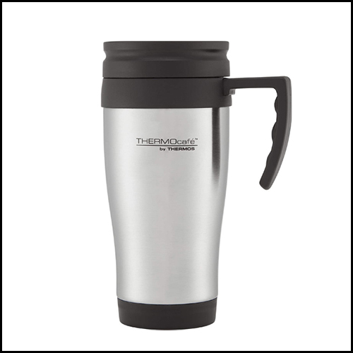 ThermoCafe by Thermos 2001 Steel Travel Mug 400ml