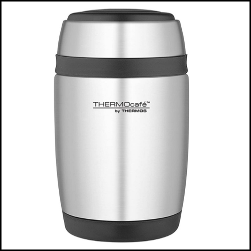 ThermoCafe by Thermos Curved Food Flask with Spoon 400ml
