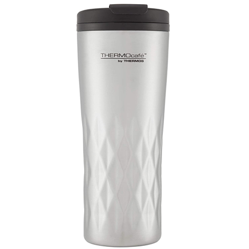 Thermos Cafe Travel Tumbler, Stainless Steel, 400ml