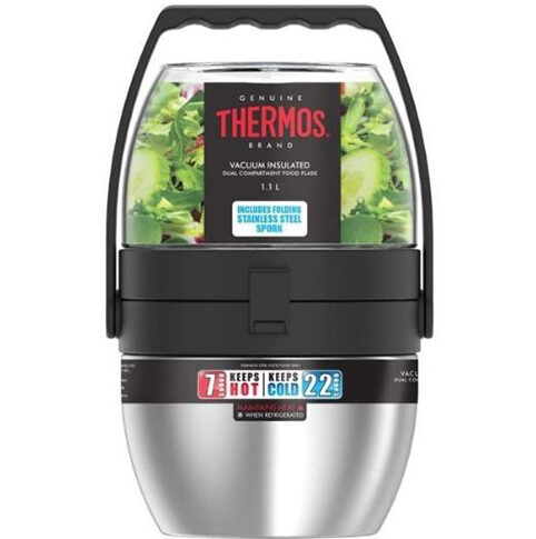 Thermos Dual Compartment Food Flask 590ml