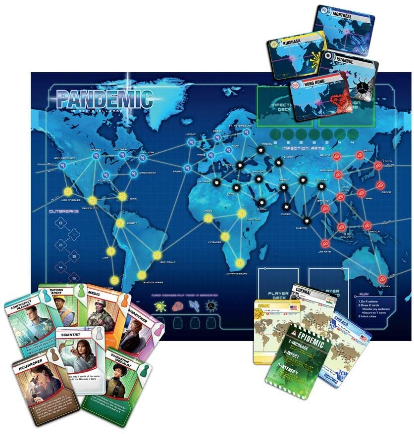 Z-Man Games Pandemic Board Game 1