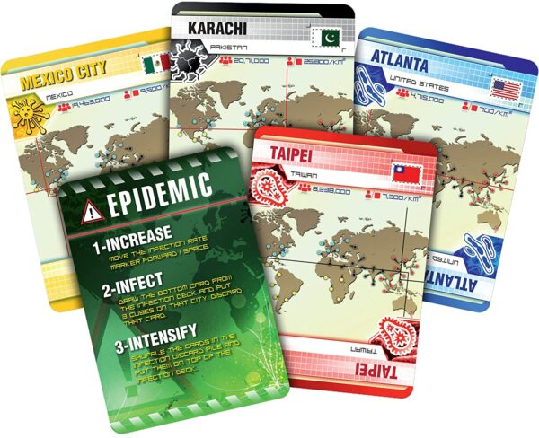 Z-Man Games Pandemic Board Game 4
