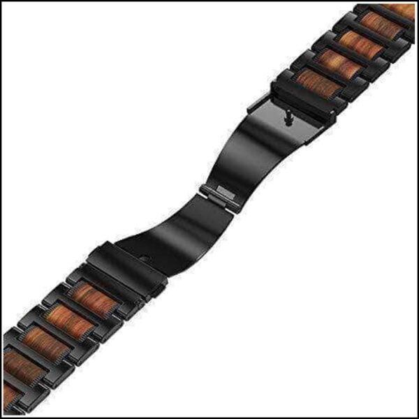 APPLE WATCH SANDALWOOD STAINLESS STEEL REPLACEMENT STRAP 44MM 42MM 5