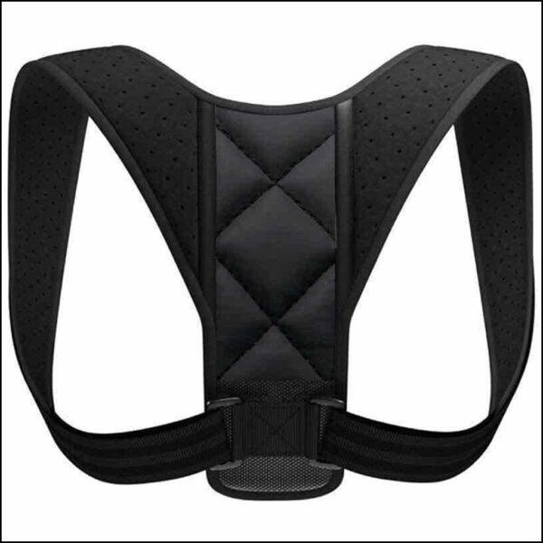 Posture Corrector Body Brace Bad Back Lumbar Shoulder Support Belt Women Men UK 8