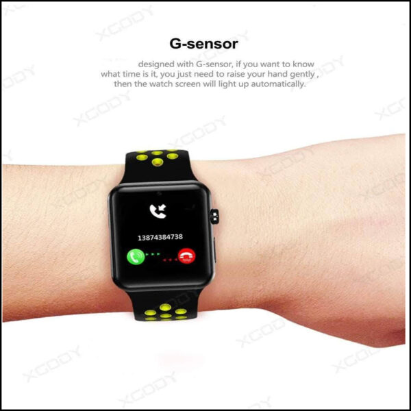 TOUCH SCREEN WATERPROOF BLOOD PRESSURE MONITOR ACTIVITY, FITNESS TRACKER SMARTWATCH 3