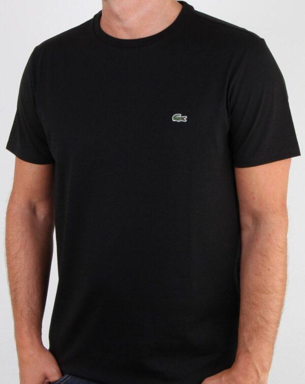 lacoste crew neck t shirt black p12322 71604 zoom 1